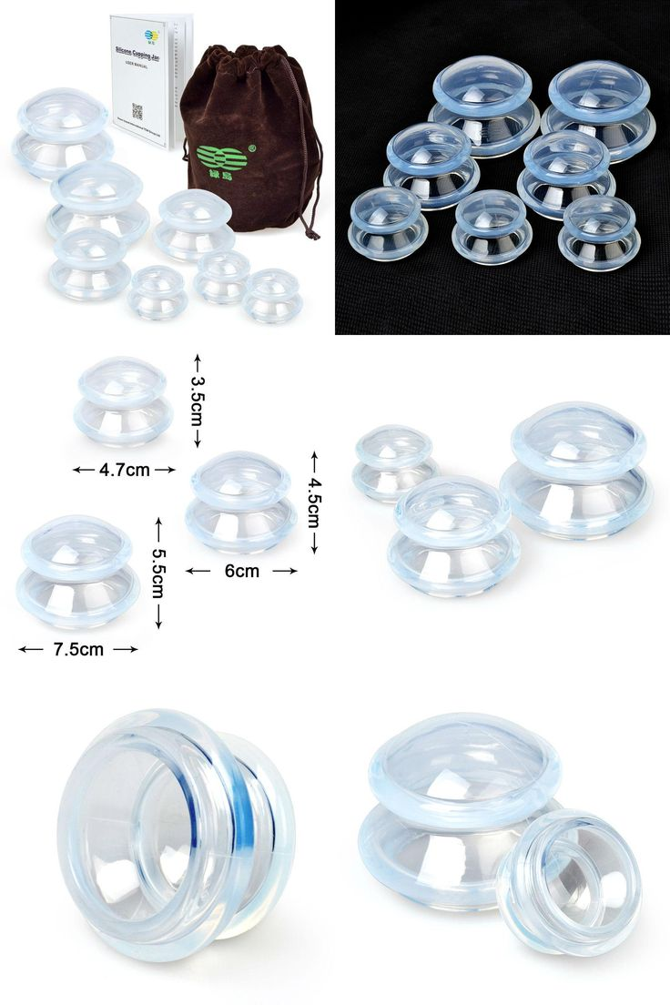 [Visit to Buy] High Transparent Silicone Cupping Massage Suction Cups Therapy Set 7pcs Cupping Therapy,Relieve Fatigue Beauty,Lose Weight #Advertisement