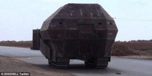 Check Out These Homemade Kurdish Tanks — They're terrible