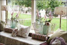 vensterbank decoratie groot raam - Google zoeken