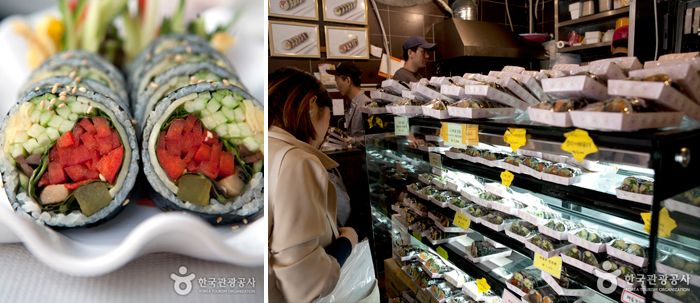 Seoul's Tastiest Gimbap | Official Korea Tourism Organization