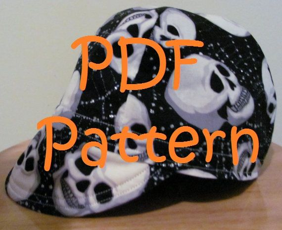 Free Welding Cap Pattern Download | Items similar to Welding Cap Pattern PDF Download on Etsy