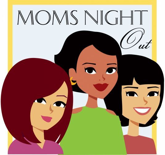 Moms Night Out  -- Fun event at end of school year! From the PTO Today Clip Art Gallery.