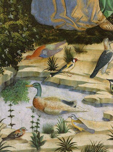 Benozzo Gozzoli - Il viaggio dei Magi (dett.) - affresco - 1459-1461 - Cappella dei Magi - Palazzo Medici Riccardi Firenze
