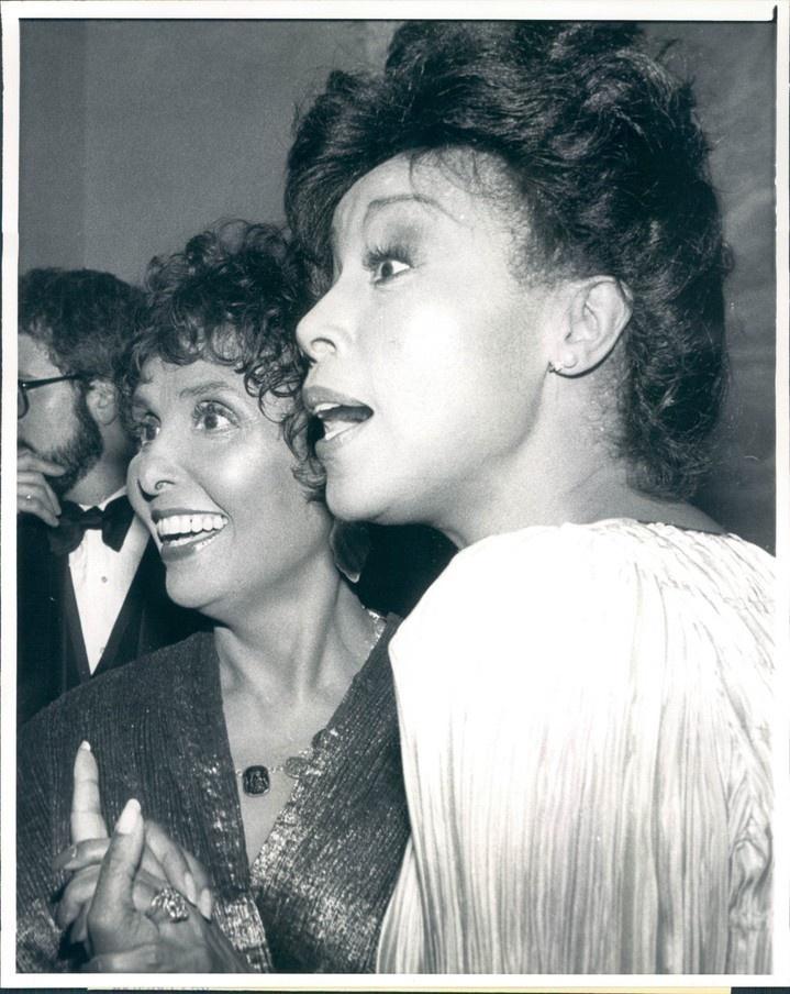Lena Horne & Diahann Carroll