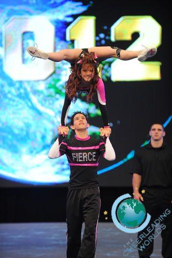 Woah acro gymnastics meets all-star cheerleading!!!! Is this stunt even legal?!?!