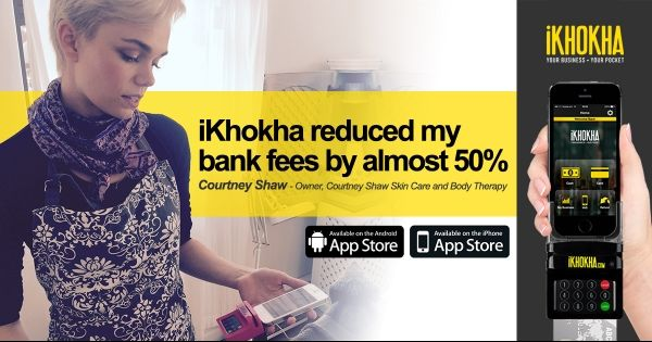 Ikhokha can reduce the bank fees of your business by almost 50%! #ad