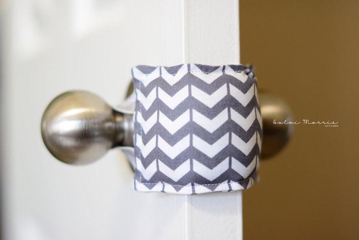 Nursery Door Quieter,Baby shower gift,Door Silencer,Nursery room door,Todder room door,photography studio. by SulmiMorrisDesigns on Etsy https://www.etsy.com/listing/246715555/nursery-door-quieterbaby-shower-giftdoor