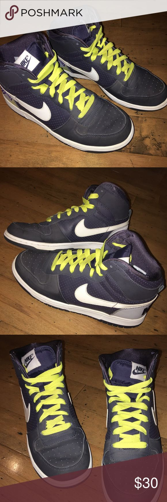 new arrivals c5eea 649a8 Big Nike Woven High Le. Nike DunksWhite LaceYellow .