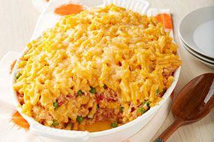 Mac and Cheese Tuna Casserole