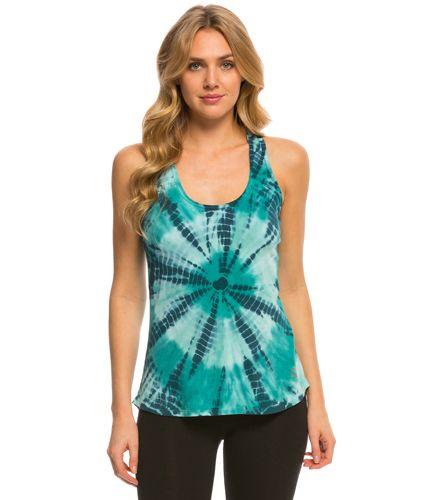 Marika Balance Collection Tie Dye Singlet Yoga Tank Top