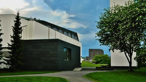 The church by Alvar Aalto, Seinäjoki, Finland.