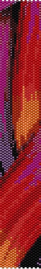 BPT0032 Thin Bracelet Pattern 32 Even Count Single von greendragon9