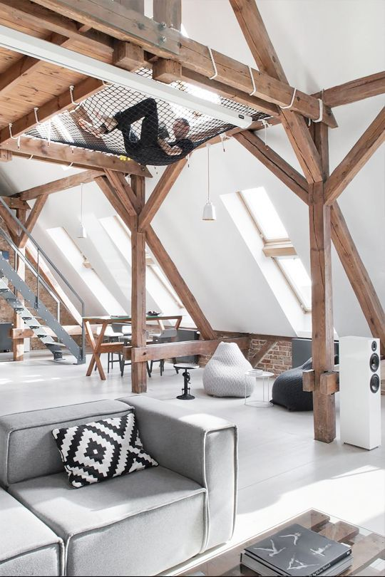 Beautiful and Simple Loft Style Living