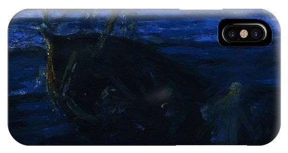 Christ IPhone X Case featuring the painting Christ And His Desciples On The Sea Of Galilee 1910 by Tanner Henry Ossawa