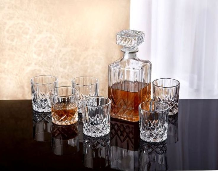 134 Best Crystal Decanters Glasses Images On Pinterest