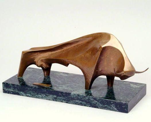 Arthur Dooley - 'The Bull', 1975