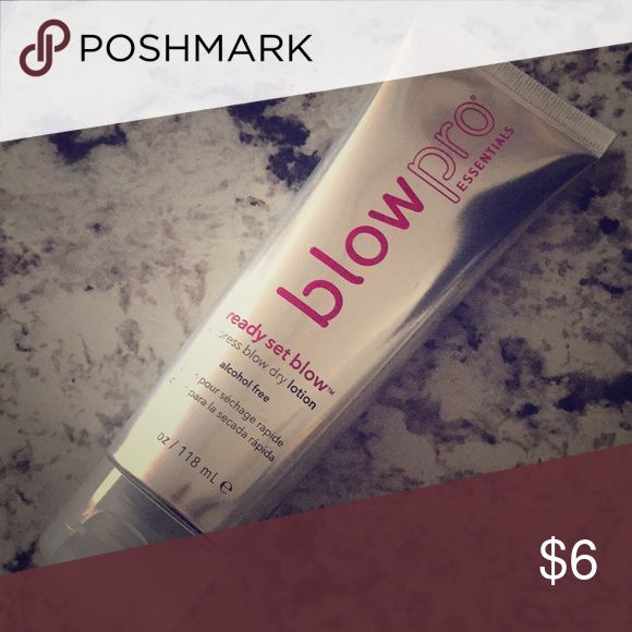 Blow Pro essentials ready set blow dry lotion Used maybe once! Basically new. Blow Pro essentials express blow dry lotion blow pro Makeup