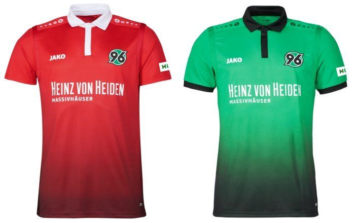 Hannover 96 2017/18 Jako Home and Away Kits