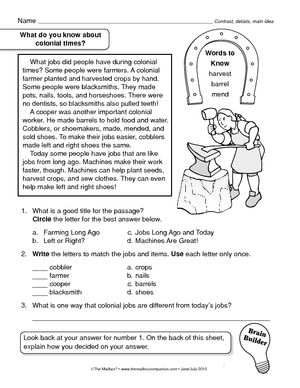 worksheet colonial times the 13 colonies lessons pinterest social studies study and search. Black Bedroom Furniture Sets. Home Design Ideas