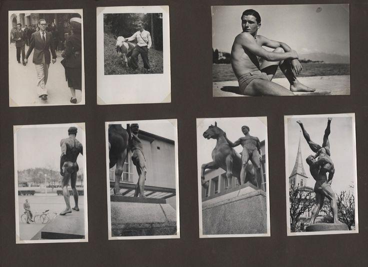 Nicephore Niepce  Lot d'albums de photographies amateurs et de photographies 1920-1935 Collection musée Nicéphore Niépce Œuvres acquises avec l'aide du FRAM