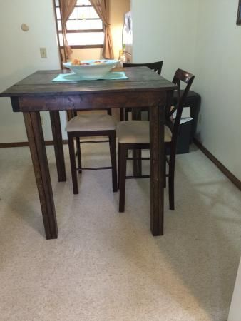 Pub Style Table | Do It Yourself Home Projects From Ana White Part 87