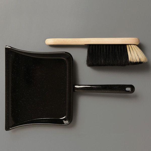 Labour & Wait Dustpan and Brush: Remodelista