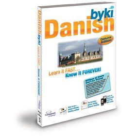 Byki Danish Language Tutor Software & Audio Learning CD-ROM for Windows & Mac