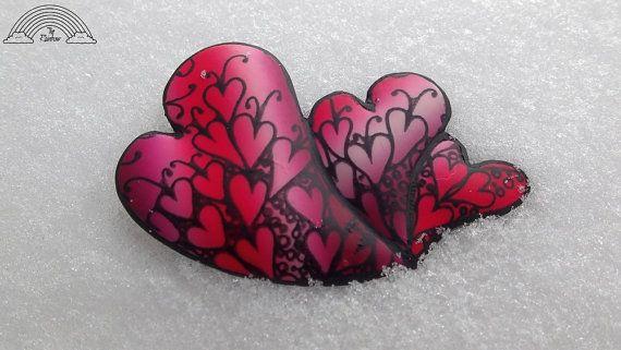 S20  cultivo de corazones  serigrafía por THERAINBOWsilkscreen