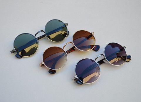 Round Unisex Grunge Sunglasses main