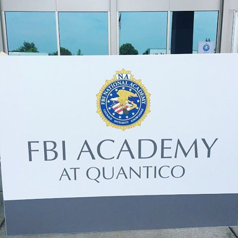 This is where it all happens… Welcome to the FBI Academy at #Quantico! #BehindTheScenes#QuanticoTakeover