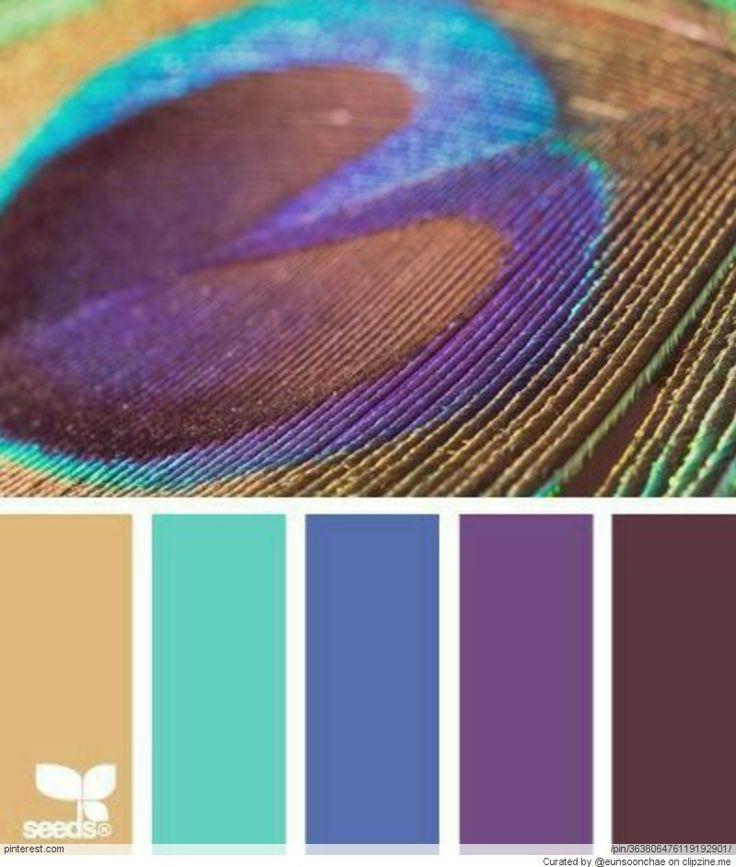 Farbpaletten Blau: 2079 Besten Couleurs Bilder Auf Pinterest