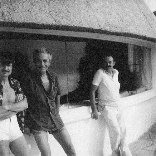 Andrei Tarkovsky, Michelangelo Antonioni, Tonino Guerra.