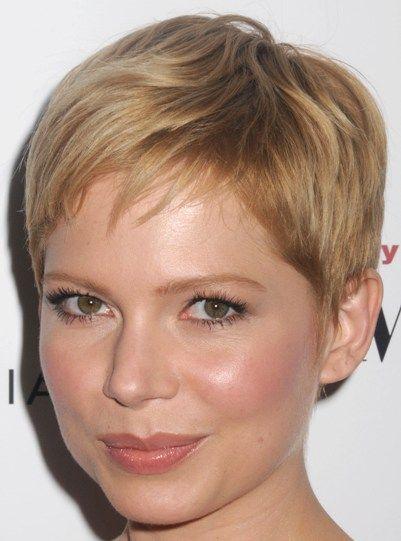 Michelle Williams Pretty Blonde Straight Hair In Short