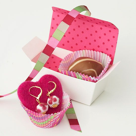 Small jewelry gift box idea.