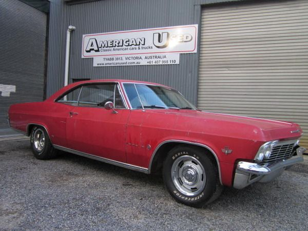 1965 Chevrolet Impala Fastback In Tyabb Vic For Sale Justcars