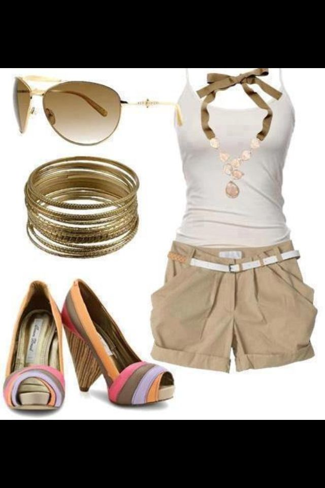 I absolutely love everything about this outfit! Shoes are my favorite!! :)