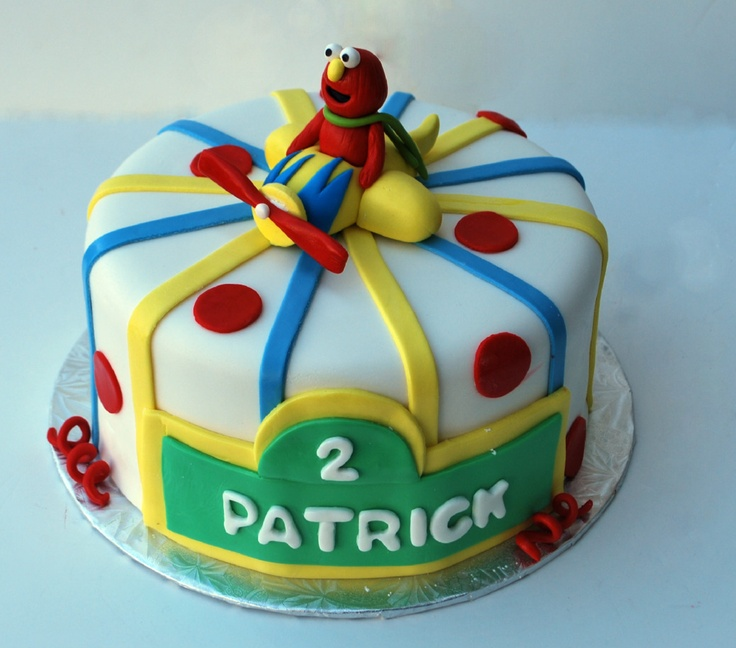 Elmo Birthday Cake Ideas