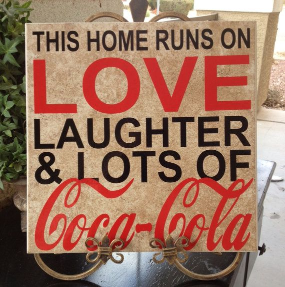 This home runs on love laughter and lots of by mellowyellowdecor, $12.99