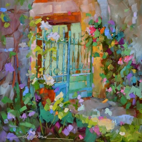 Joy in the Morning, painting by artist Dreama Tolle Perry