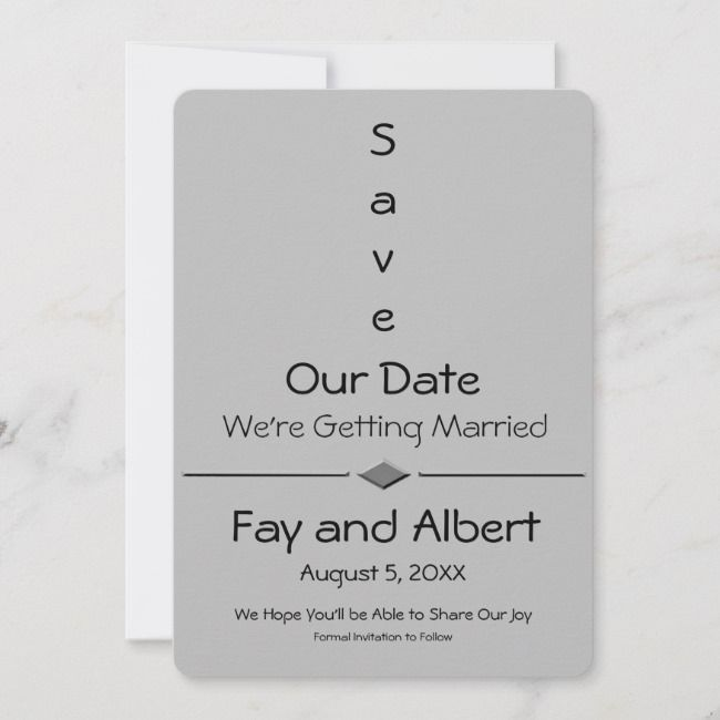 Create Your Own Flat Save The Date Card Zazzle Com Wedding Save The Dates Save The Date Cards Wedding Saving