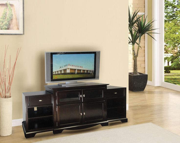 Magnifique Furniture - Lamesha Espresso TV stand 91084 For $493