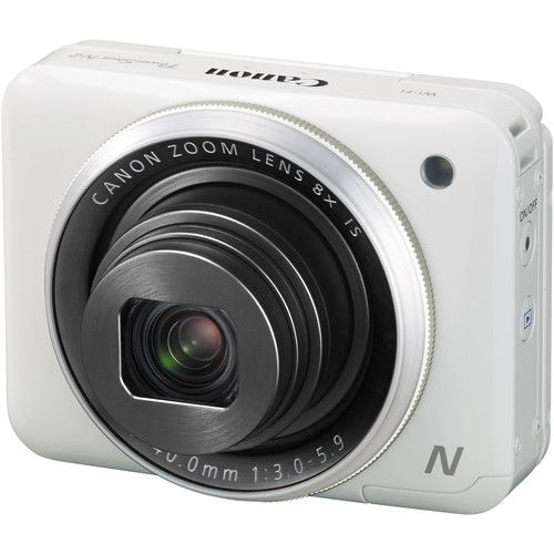 Canon PowerShot N2 Digital Camera (White) 16 MP $300