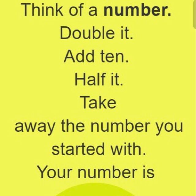 WHY DOES THIS WORK?! Like word games? Math? Click to play! #mathgames #math #riddle