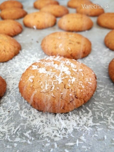 Bezlepkové kokosové cookies