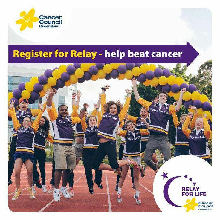Register Today! Join in to help beat cancer.  http://fundraising.cancer.org.au/site/TR/RelayforLife/CCQLD?pg=entry&fr_id=3777