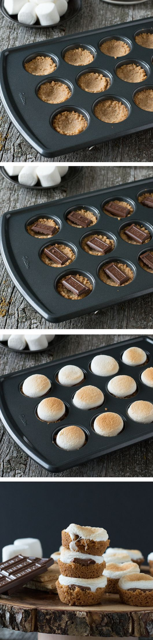 S'mores Bites - a twist on the classic dessert, make these little S'mores Bites…