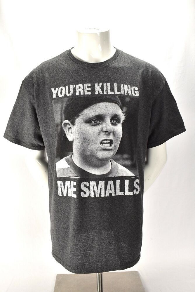 bb70438bb501 The Sandlot Movie Your Killing Me Smalls Baseball Tee Shirt Gray Sports XL  #THESANDLOT #GraphicTee