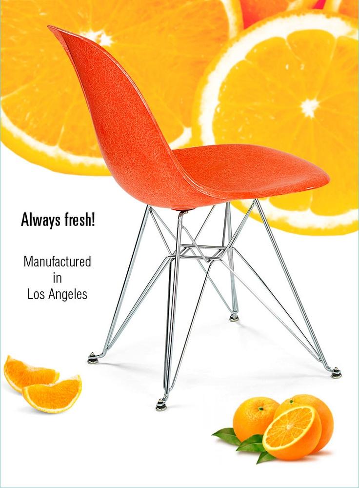 Case Study Fiberglass Chairs by Modernica
