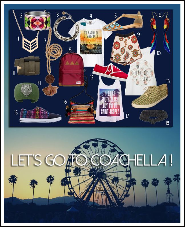 Let's go to Coachella !