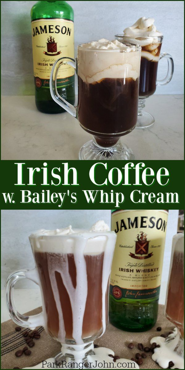 How to make a delicious Jameson Irish Coffee recipe topped